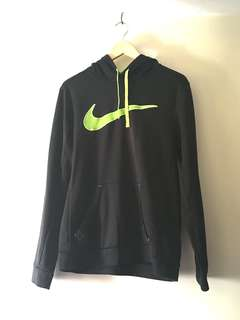 a14034530 Authentic Nike Mens Womens Black Sweater Jacket Size Small