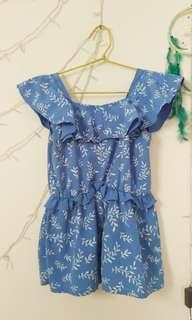 SALE !! Cute Blue Tops