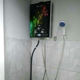 Water heater gas pemandian hangat tanpa listrik dan bisa mmbantu mnghematkan pemakaian