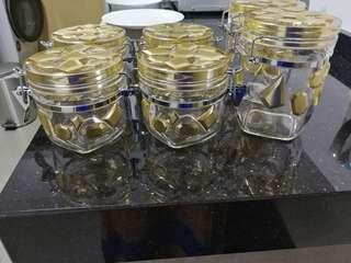 Gold - Pastry + Baked goods containers for Hari Raya  $20 each