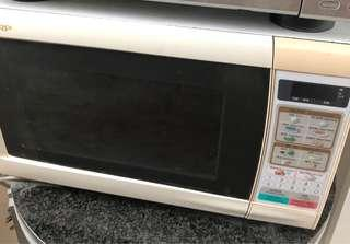 🚚 Sharp Microwave