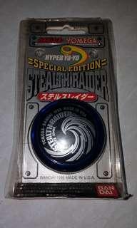 BANDAI 超速搖搖 YO YO 搖搖 STEALTH RAIDER 飛翼雷達( 透明藍黑) 北條院聖斗專用