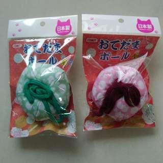 COMET 日本國產木天蓼玩具 來刷牙 手玉噹噹包