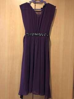 Purple Embellished Dorothy Perkins Dress