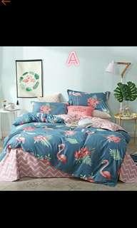 Flamingo Bedsheet Set