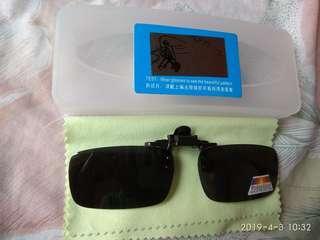 全新 夾片式 太陽眼鏡