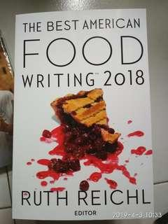 🚚 The Best American Food Writing 2018. Ruth Reichl
