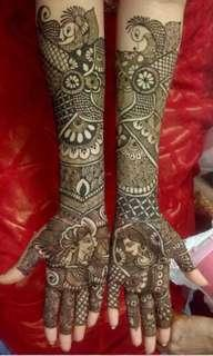 Bridal Henna (traditional)