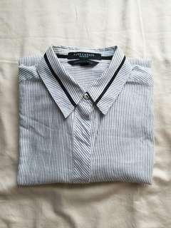 PURE CAREER Cufflinks Striped shirt