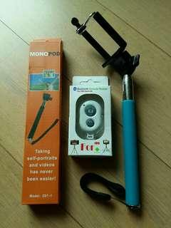 藍牙自拍神器 bluetooth selfie stick