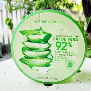 300 ML Nature Republic SOOTHING GEL Aloe Vera 92% - 10.56 FL OZ (Sealed)