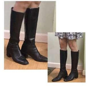 REPRICED !!!! Boots (Gen Leather)