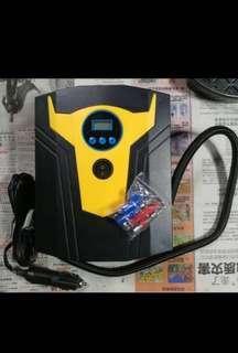 汽車12v車胎充氣泵連緊急照明