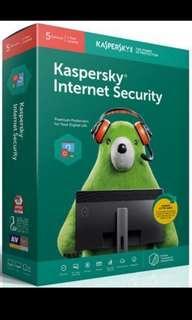 Kaspersky Internet Security 💯 Genuine Key 2019