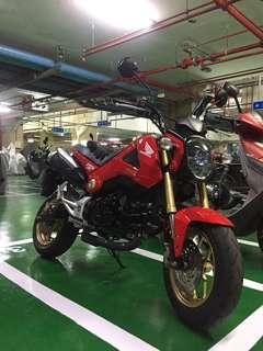 2014年 Honda MSX 一代紅 車庫車 低里程 少騎 已無新車