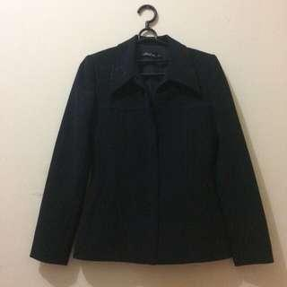 Blazer Black wanita fit to M