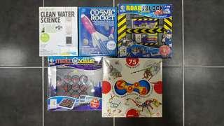 Science Kits & Puzzle Set