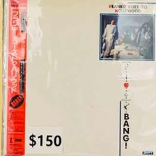 Frankie Goes to Hollywood (FGTH) - Bang! 日版 長版  LP 黑膠