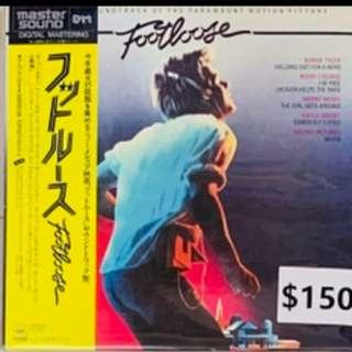 Soundtrack  Footloose 渾身是勁 日版 Mastersound 名盤  LP 黑膠