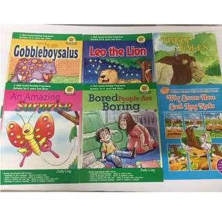 Children story reading books