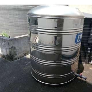 Stainless Steel Water Tank (1250L)