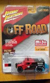 Johnny Lightning Off Road Hummer H1 Wagon (924)