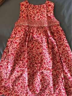 Embroidered and smocking dresses for 5/6T