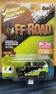 Johnny Lightning Off Road Hummer H1 Wagon (1014)