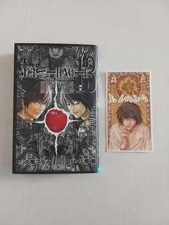 日版Jump Comics 特別版 13期Death Note 死亡筆記連L限量燙金白卡