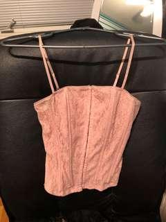 Guess corset tank top