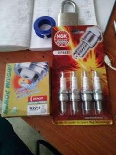 Iridium spark plug honda pesona
