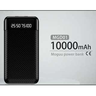 10000mAh Anti-Fingerprint Power Bank With Digital Display