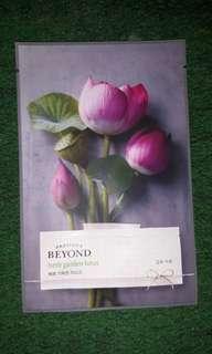 Masker Passion& Beyond herb garden lotus