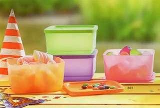 Toples Tupperware smallsummer fresh