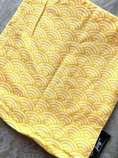 Cushion Cover Oriental Fan Pattern by joy+