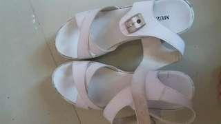 Shoes high white