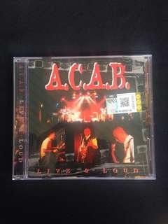 ACAB (Live & Loud) CD