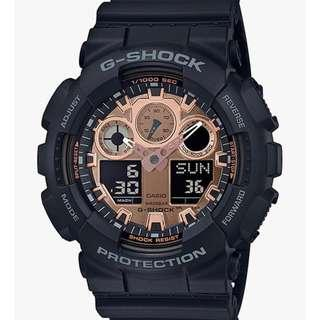 CASIO G-Shock GA-100MMC-1A Digital Watch Black ..