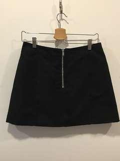 H&M 麂皮短裙