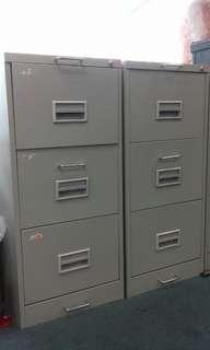 3 TIER OFFICE CABINET X 2 UNITS