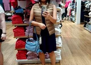 Uniqlo down jacket M size