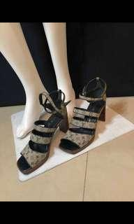 🚚 LV涼鞋/高跟鞋尺寸38