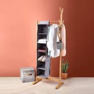 6 Shelf Hanging Organiser #SwapAu