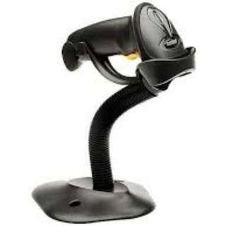 Zebra LS2208-SR20007R Scanner, with Cable and Stand (Black USB Kit)