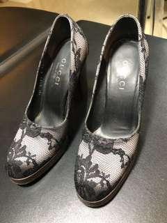 🚚 Gucci高跟鞋 尺寸36.5