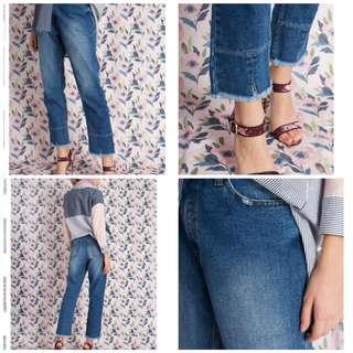 boyfriend ripped jeans merk aleza