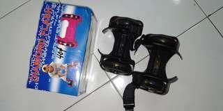 [Free post sm] flashing roller kasut roda