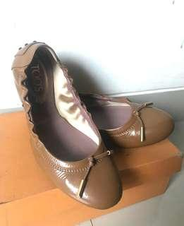 Tods Ballerina Shoes