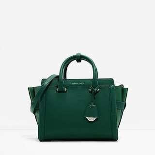 Top Handle City Bag by Charles & Keith