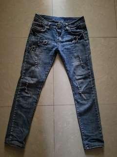 牛仔褲s size